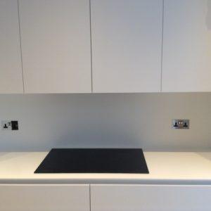 glacier white kitchen worktop