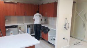 Silestone Bianco Norte Worktop Installation
