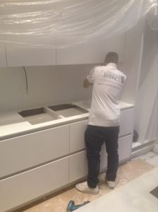 worktop fitting by countertop impact