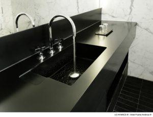 Black Corian basin