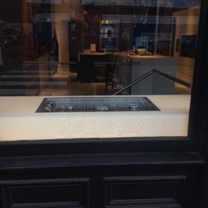 Corian showroom display