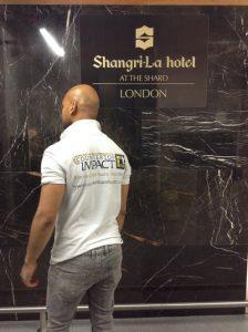 countertop impact at shard London