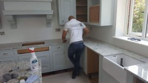 Granite worktop fitting by countertop impact
