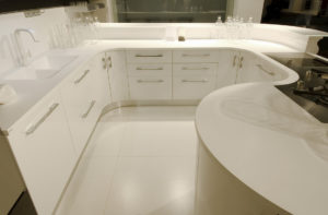 Hi-Macs kitchen worktops