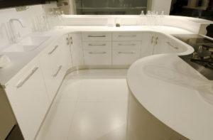 Hi-Macs kitchen worktops